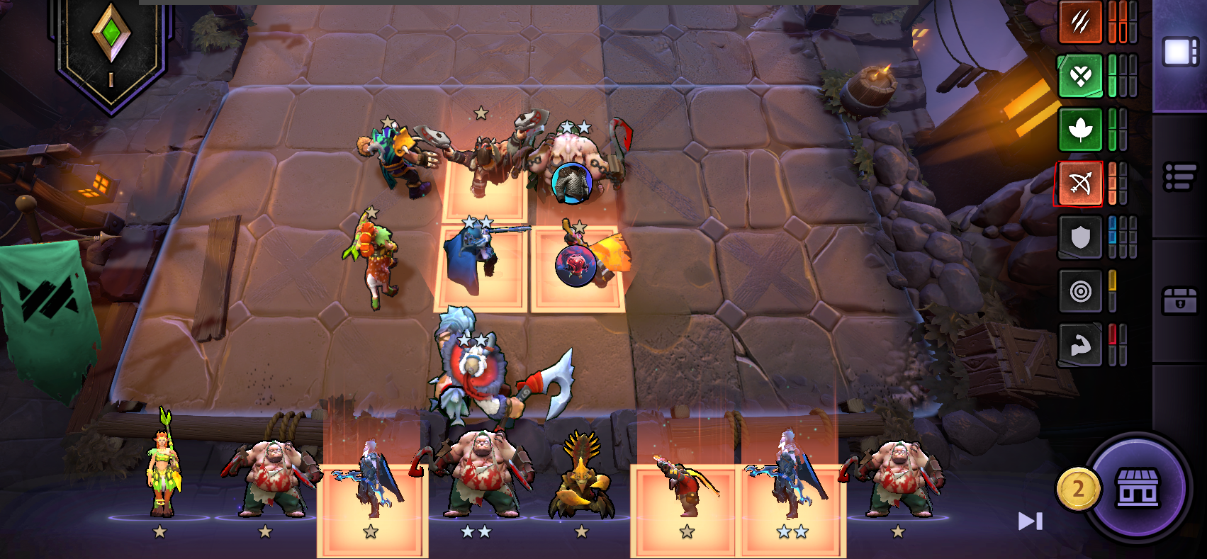 How to manage alliances Dota Underlords