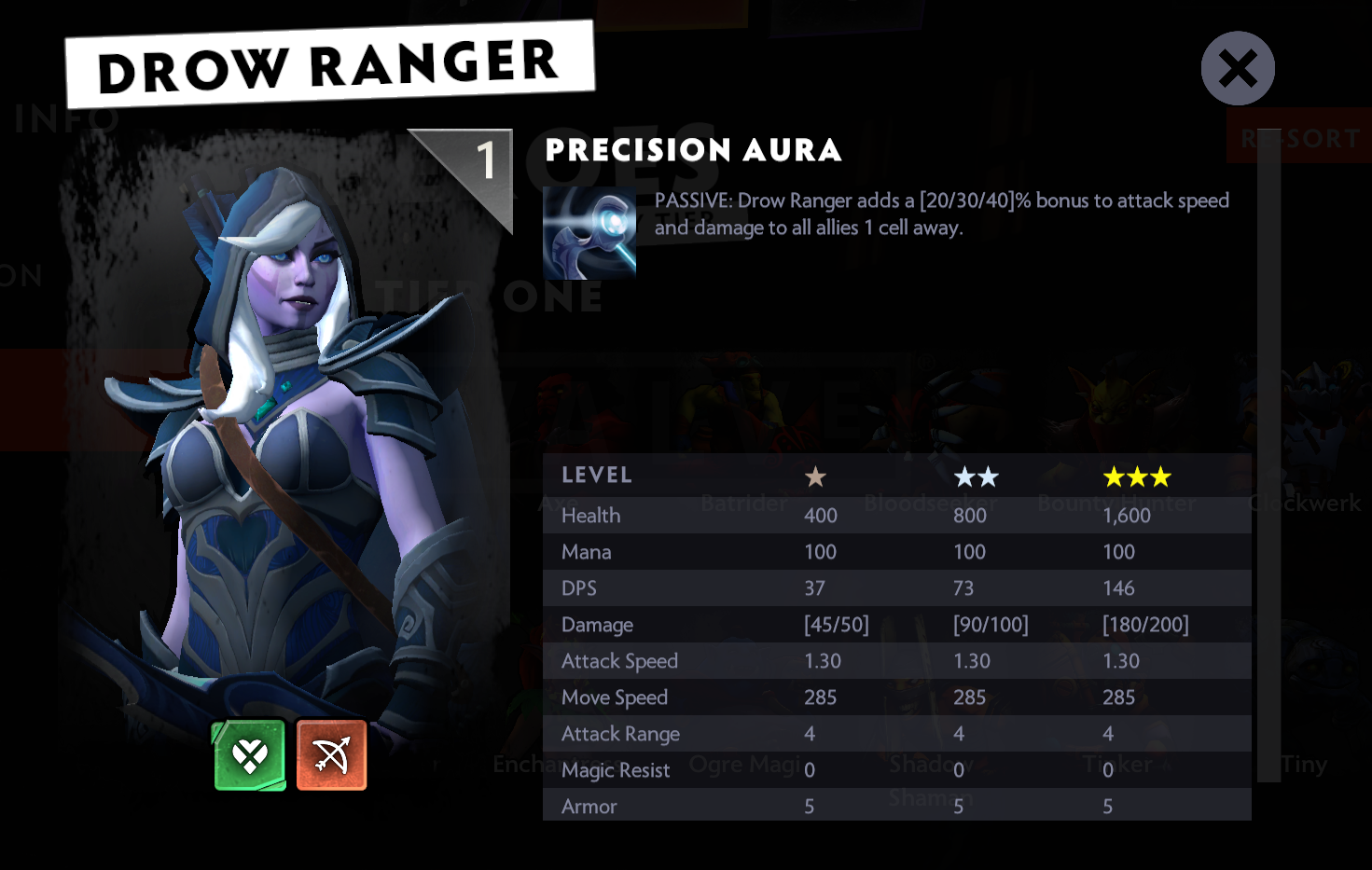 how to play dota 2 underlords drow ranger