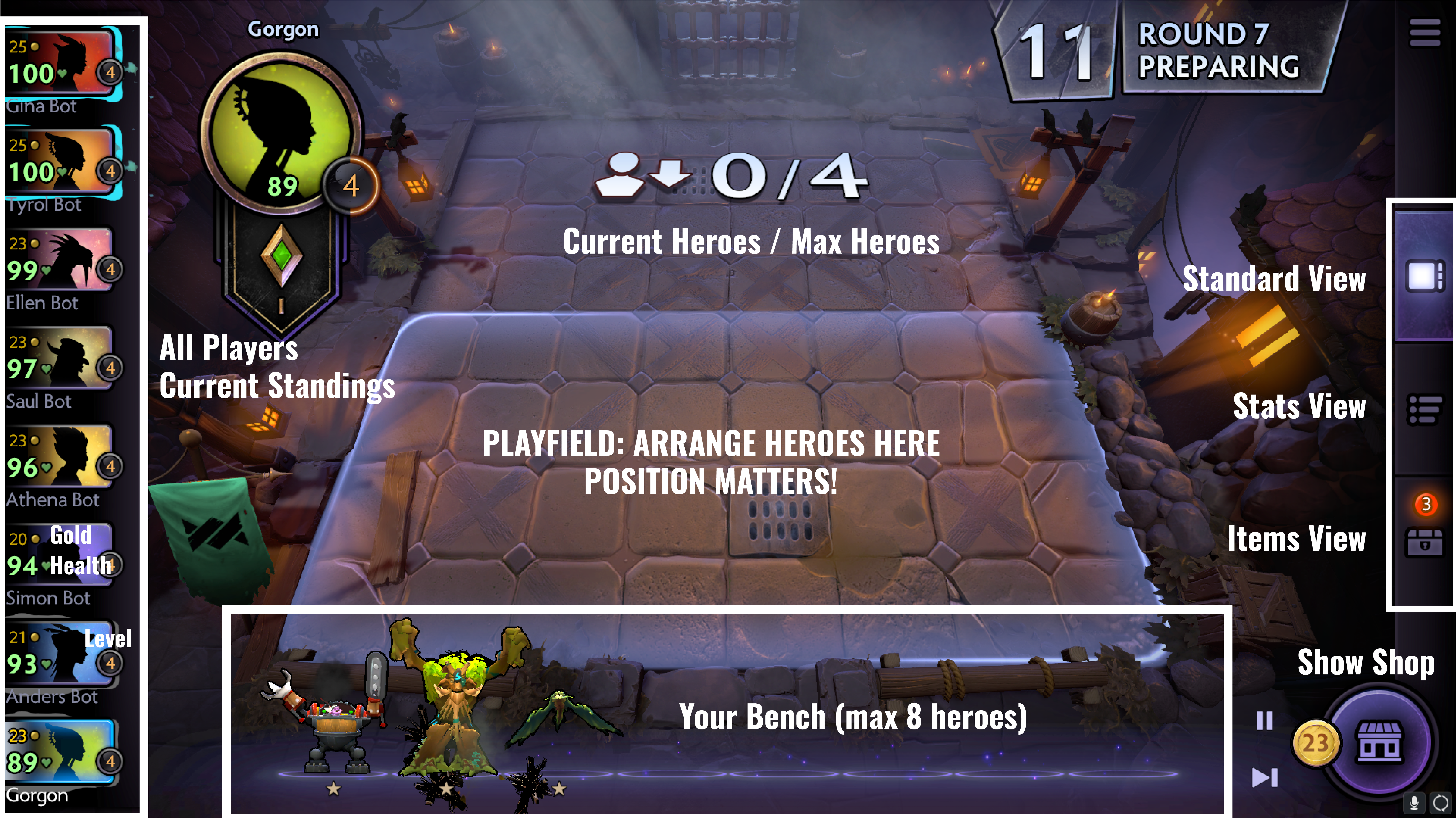 How to play Dota Underlords