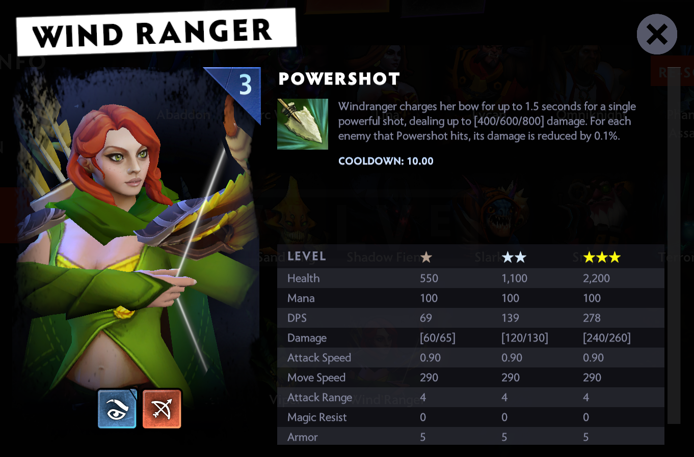 how to play dota 2 underlords wind ranger