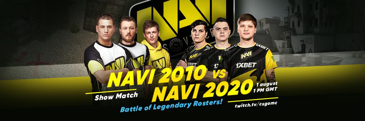 Na'Vi Natus Vincere Showmatch CSGO CS 1.6